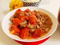 味噌炒番茄肉末