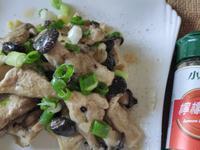 香煎檸香奶油黑蠔菇