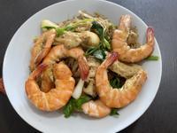 泰式粉絲蝦煲