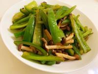 鴻禧菇炒青椒
