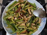 沙茶五香豆干炒青椒