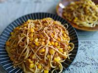 茄汁玉米肉醬義大利麵