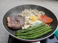 牛排餐一鍋煎