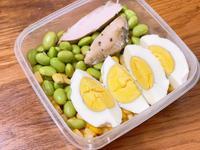 健康原型食物 水煮蛋雞胸肉