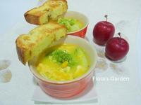 輕食‧消夜-南瓜玉米濃湯