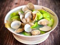 絲瓜蛤蜊湯 (零廚藝料理)