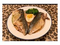 統一肉燥麵佐鯖魚