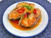 醬燒洋蔥鮭魚