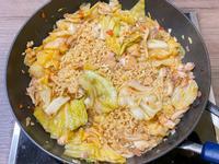 (宿舍料理)豆瓣醬炒泡麵