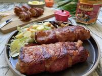 台塑餐飲-培根里肌肉+蘑菇醬