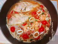 義式番茄水煮魚
