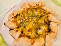 鮮蔬雞肉龍捲風披薩