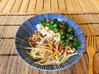 味噌秋葵豆腐丼|素食15分鐘上菜