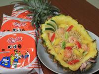 清檸鮮蝦鳳梨炒泡麵
