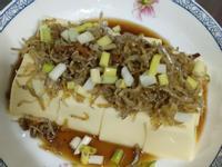 小魚涼拌豆腐