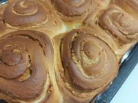 蜂蜜花生麵包捲