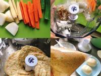 嬰幼兒食譜:海鮮蔬菜煎餅