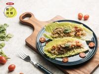 減醣生菜包豬肉鮮蔬炊花椰菜飯