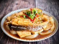 紅燒海鱸豆腐