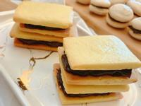 💕蘭姆葡萄奶油餅乾(巧克力醬)💕