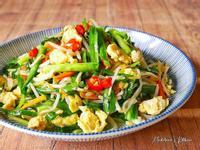 韭菜綠豆芽炒蛋