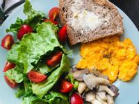 健康早午餐三明治
