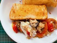 [氣炸鍋]西班牙鮪魚烘蛋+烤吐司