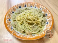 青醬鮪魚蘑菇義大利麵