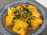 簡易版蔥燒豆腐