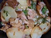 起司洋芋雞腿(氣炸鍋版)