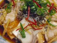 清蒸鯛魚粉絲豆腐