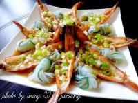 【大吟釀薄鹽醬油】蒟蒻蒜蓉蒸蝦