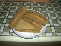 抺茶花生煎餅