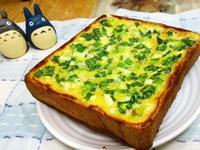 簡速版~蔥花麵包(土司)