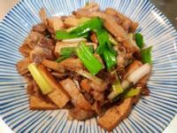 蔥香五花肉炒豆乾