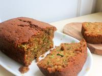 櫛瓜蛋糕,簡單的全麥高纖甜點