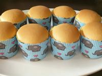 煉乳棉花杯子蛋糕