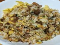 小琉球家常菜鬼頭刀魚乾蛋炒飯