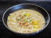 豆乳豬肉片雜菜湯