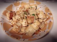 鹹蛋板豆腐