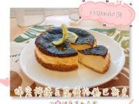 [蛋奶素/低糖]豆腐優格偽巴斯克乳酪蛋糕