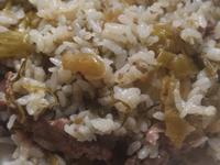 酸菜牛肉炒飯