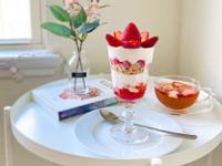 草莓優格芭菲