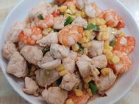 玉米炒里肌蝦仁