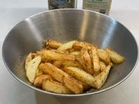 氣炸蒜香薯條