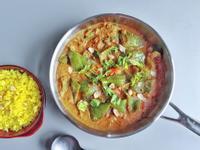 印度青椒瑪薩拉咖哩