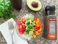 5彩酪梨沙拉 消暑小食 營養健康