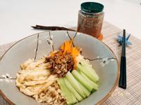 夏日輕食-堅果醬拌麵