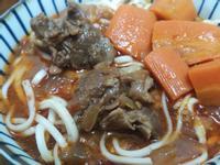 番茄紅燒牛肉麵(電鍋版)