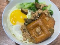 瓜仔滷肉飯